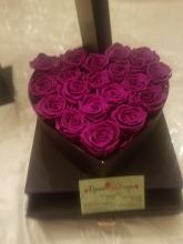 Forever Love Roses That Last A Year Heart Edition Deep Purple