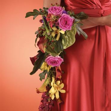 Bridesmaid Arm Bouquet