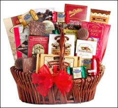 Luscious Chocolate Gift Basket