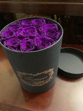 Forever Love Roses Deep Purple Classic Size