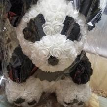 Forever Rose Bear Panda Edition Large