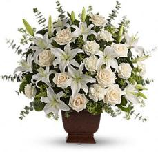 All White Premium Blooms Delivered to Edgewater, NJ