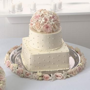 Blossoms Of Love Cake Top