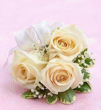 White Rose Corsage