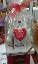 """I Love You\"" Bear with 2 Boxes of Premium Chocolates"