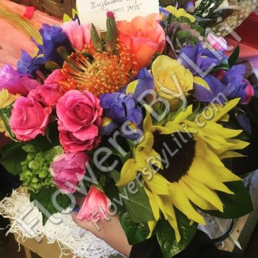 Cheerful Get Well Bouquet