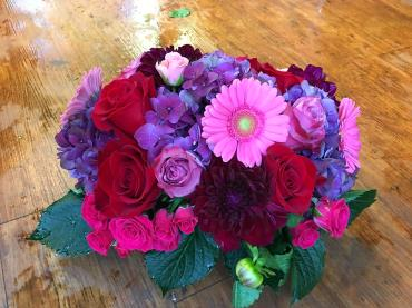 Luscious Seasonal Jewel Toned Blooms