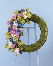 Half and Half Wreath