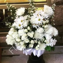 Beautiful White Sympathy Flowers