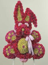 Bunny Rabbit Funeral Arrangement