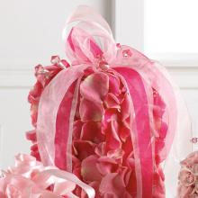 Rose Petal Gift Box Centerpiece