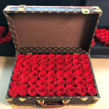 Forever Love Roses That Last A Year Deluxe Suitcase