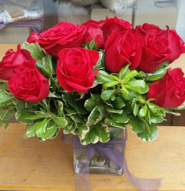 Perfect Red Roses