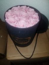 Forever Love Roses Tender Pink Classic Size