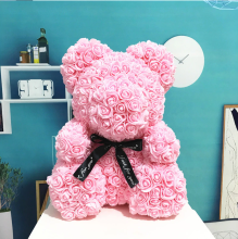 Forever Rose Bear Pink Large