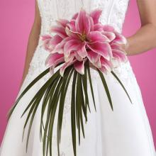 Composite Lily Bridal Bouquet