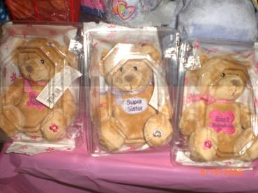 Message Bears in a Box