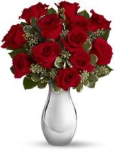 True Romance Bouquet of Red Roses
