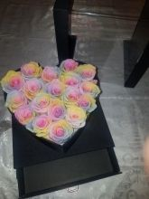 Forever Roses That Last A Year Heart Edition Rainbow