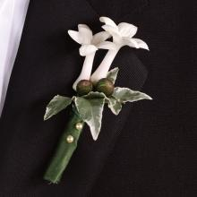 Fragrant stephanotis Boutonniere